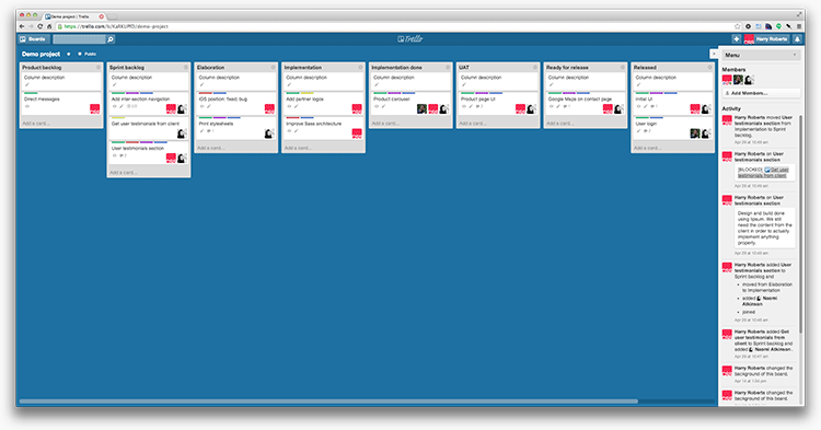 My Trello Workflow Css Wizardry Css Architecture Web